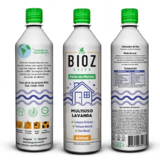 MULTIUSO LAVANDA - BIOZ 600ml
